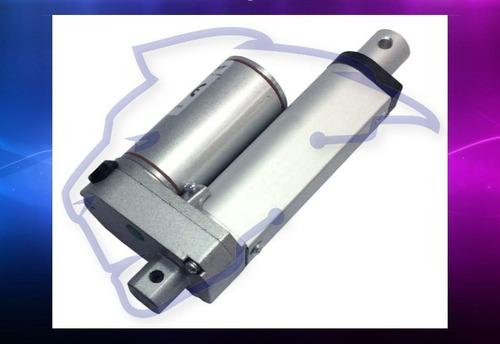Imagen 1 de 5 de Actuador Motor Lineal 130kg 50mm 12v Piston 5 Cm Cms 5cm Ina
