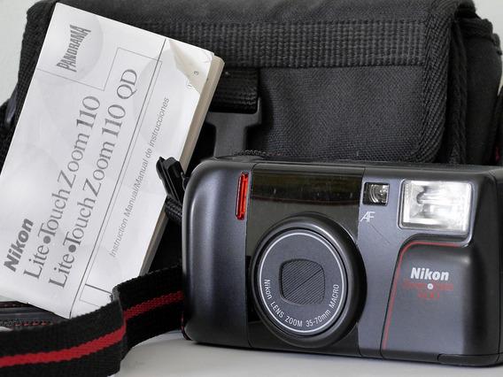 Câmera Nikon Zoom Touch 400 - 35mm - Filme - Perfeita!!!