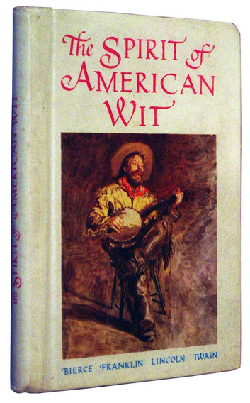 The Spirit Of American Wit Pensamentos Franklin Lin Livro /