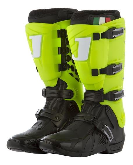 Bota Motocross Trilha Pro Tork Jett Lite Verde Neon + Brinde