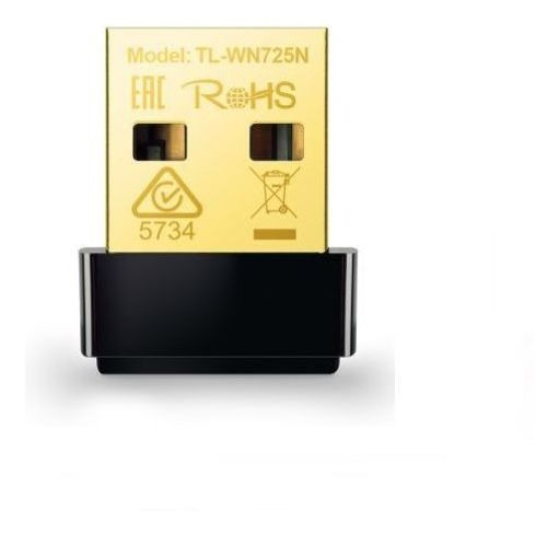 Mini Adaptador Tp-link Nano Wireless Nusb 150 Mbps Tl-wn725n