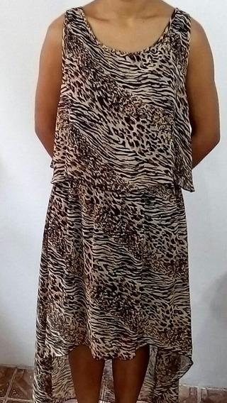 Vestido Tigreso Importado Usa
