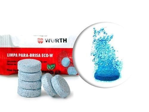 Limpador Para-brisa Pastilha - Wurth 5g ( 5 Unidades )