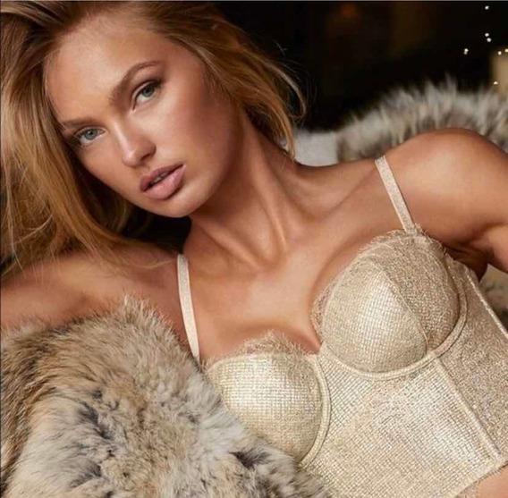 Semi Corset De Victoria Secret Talla 36c