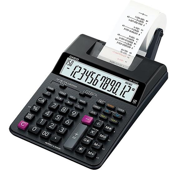 Calculadora Impresora Casio Hr-100tm 2 Colores 12 Digitos
