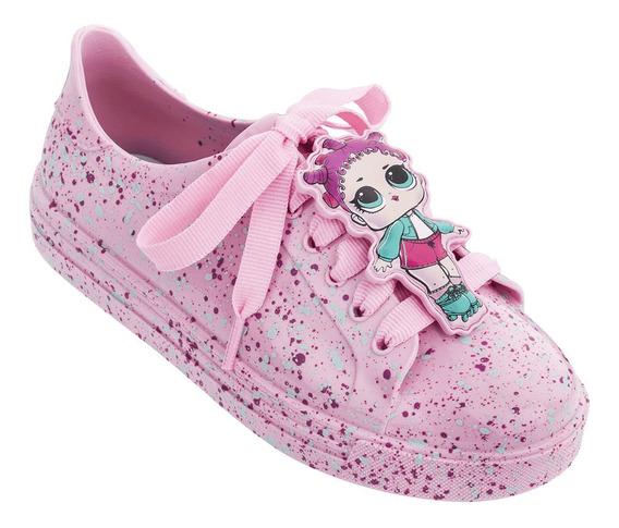 Tênis Infantil Feminino Grendene Lol Colors Rosa-22125