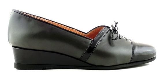 Mocasin Chatita Mujer Cuero Zapato Briganti - Mcmo03621 Vh