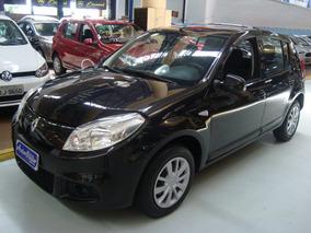 Renault Sandero Expression 1.6 Flex 2012 Preto (completo)