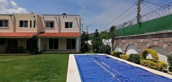 Se Renta Casa Con Alberca En Jiutepec
