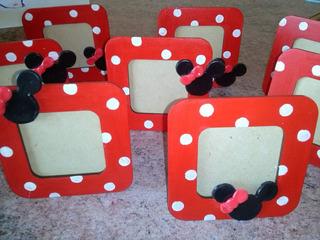 Souvenirs Portaretratos Mickey Minnie