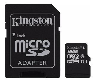 Cartão de memória Kingston SDC10G2 16GB