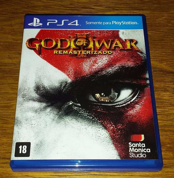 God Of War 3 Remasterizado Mídia Física Ps4 Playstation 4