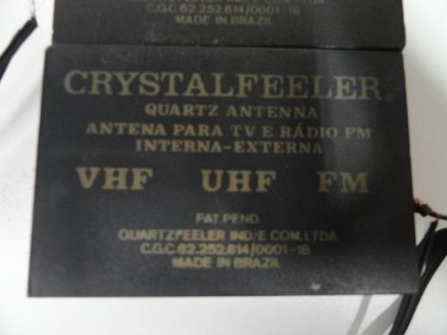 Antena Para Tv E Rádio Fm Interna/externa - Raridade!