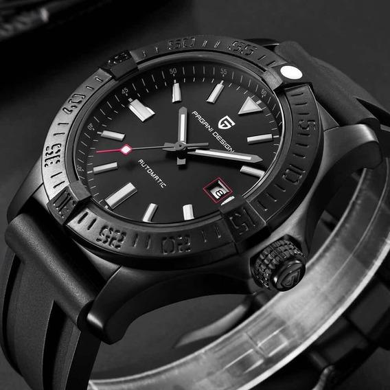 Relógio Luxo Automático Original Pagani Design Novo