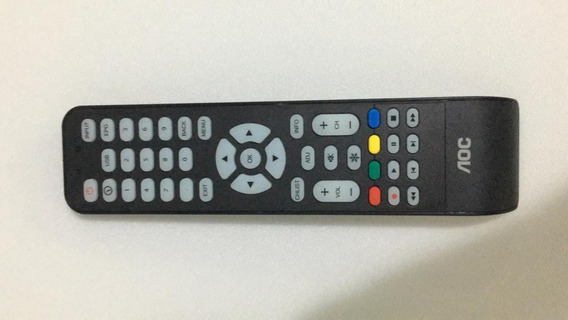 Controle Remoto Original Tv Led Aoc Le32h1461 Semi Novo