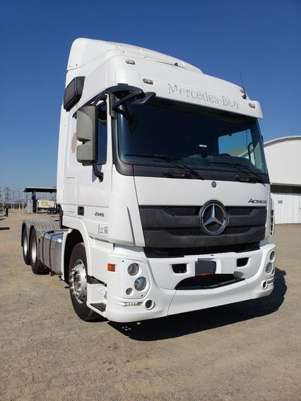 Mercedes-benz Mb 2546 6x2 Actros 2016 / Financiamos