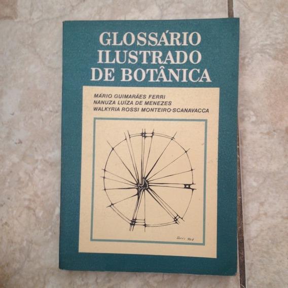 Livro Glossário Ilustrado De Botânica Mário Guimarães C2
