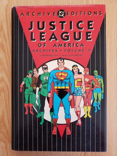 Imagen 1 de 2 de Justice League Of America - Archives Volume 2 (dc Comics)