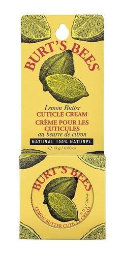 Crema Para Cutículas Burt's Bees Mantequilla De Limón 17 Gr