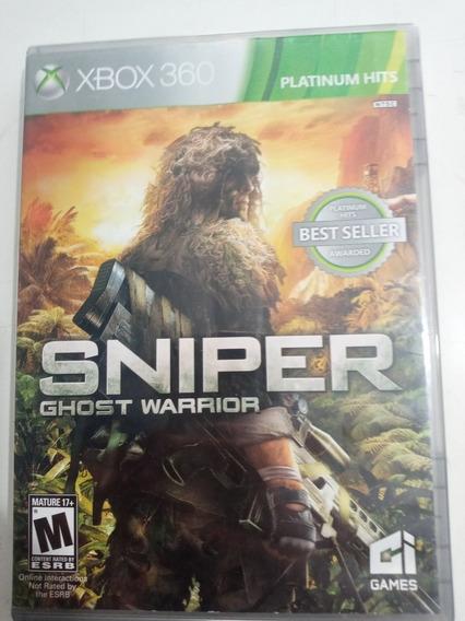Sniper Ghost Warrior Xbox 360 Midia Física