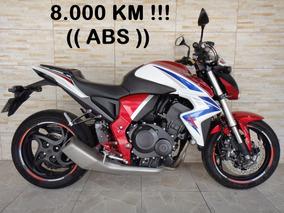 Honda Cb1000r Abs 2015 Vermelha Com 8.000 Km Rodados !!!