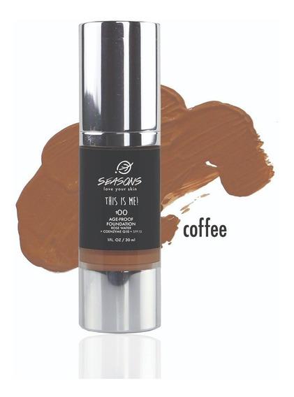 Base De Maquillaje 100-coffee