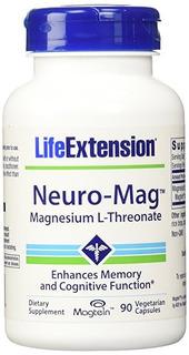 Life Extension Neuro Mag Magnésio L Treonato - Frete Grátis