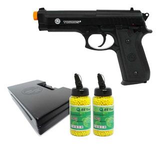 Pistola Airsoft Cybergun Taurus Pt 92 Mola+ 2 Esfera+ Maleta
