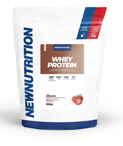 Whey Protein Concentrado Newnutrition 900g