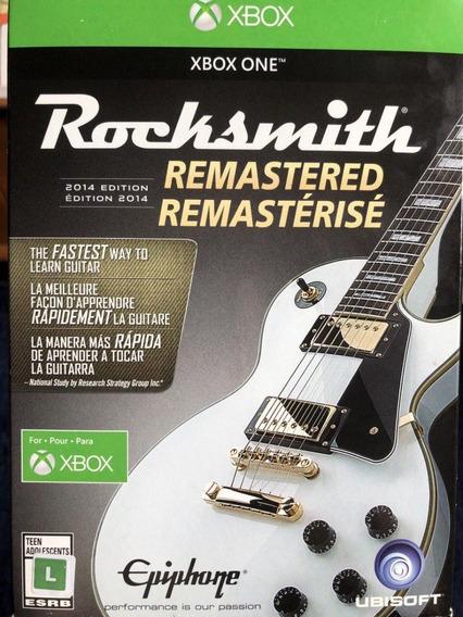Rocksmith Xbox One Com Cabo Edição 2014 Remastered