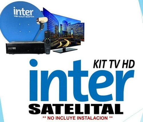 Kit Inter Con Deco Y Antena Satelital.