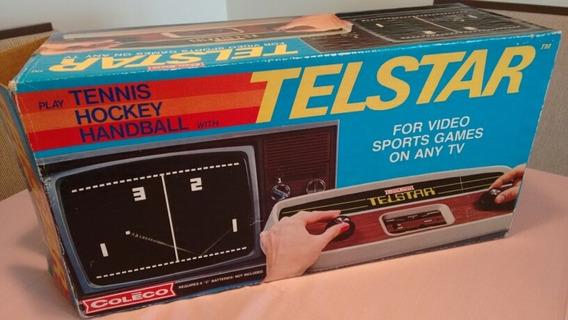 Coleco Telstar Excelente Estado! Caixa Manual E Funcionando!