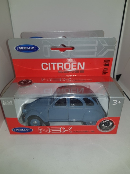 Citroen 2 Cv / 3 Cv No Inolvidables 1:32 Welly Color Azul