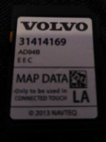 Cartao Mapa Volvo V40 2014