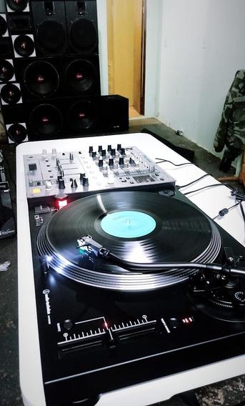 1 Toca Disco Audio Technica Lp120x Preta Usb Na Caixa