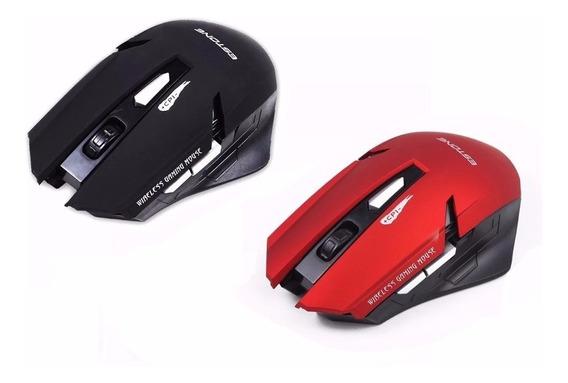Mouse Sem Fio Wireless 2.4ghz 1600 Dpi 6 Botões Jogos Gamer