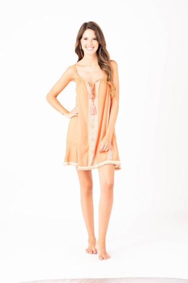 Vestido Dama Peach. Código: Lima