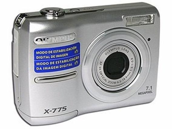 Câmera Fotográfica Olympus X-775 Usada.