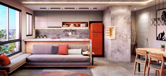 Apartamento Com 1 Dormitório Com Garagem No Freitas 300 À Venda No Bairro Azenha - Porto Alegre/rs - Ap2176