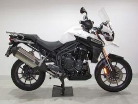 Triumph - Tiger Explorer 1200 - 2014 Branca