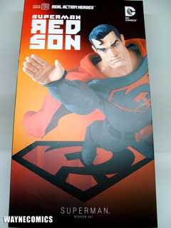 Superman Red Son Medicom Real Action Heroes Batman Dc Joker
