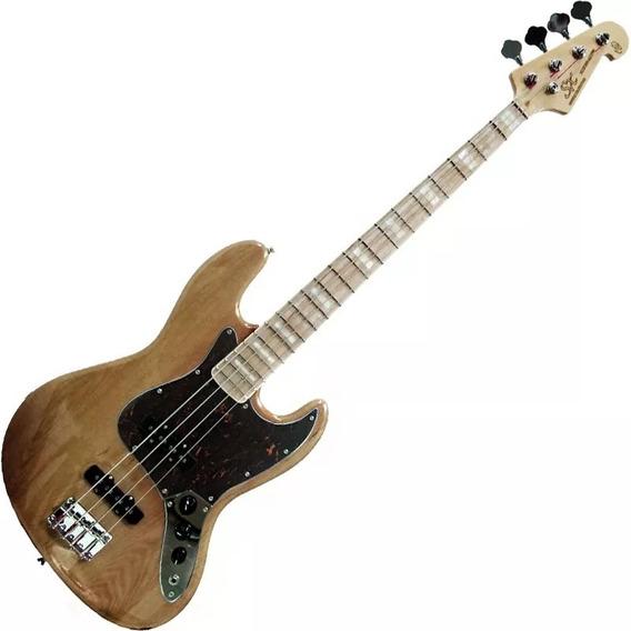 Contra Baixo Sx Vintage Jazz Bass Sjb75 Tor 4 Cordas Passivo
