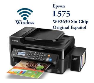 Epson Wf2630 A L575 Wifi Español Tipo Original Mejor Q L4150