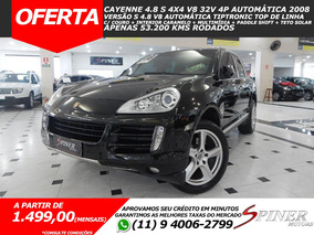 Porsche Cayenne 4.8 S V8 32v 4p Aut Top De Linha C/ Teto