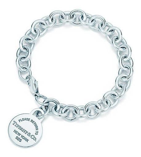 Pulseira Tiff Return Prata Com Embalagem Bracelete