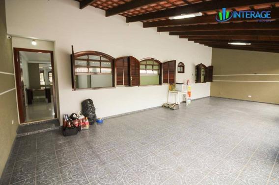 Casa Com 3 Dormitórios Para Alugar, 110 M² Por R$ 1.800/mês - Santa Felicidade - Curitiba/pr - Ca0285