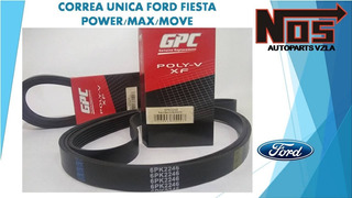 Correa Unica Ford Fiesta Power/max/move