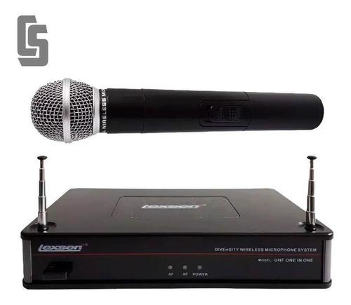Microfono De Mano Inalambrico Lexsen Uhf One In One