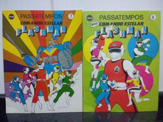 Lote 2 Revista Passatempo Flashman 7 E 8 Ebal Rjhm