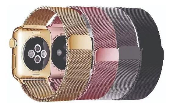 Pulseira Relogio Milanese Apple Watch 38mm 40mm 42mm